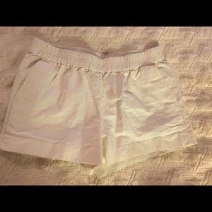 100% Cotton J.Crew White shorts